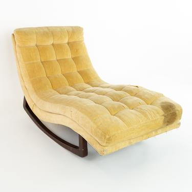 Adrian Pearsall For Craft and Associates Mid Century Rocking Chaise Lounge Chair - mcm by ModernHill