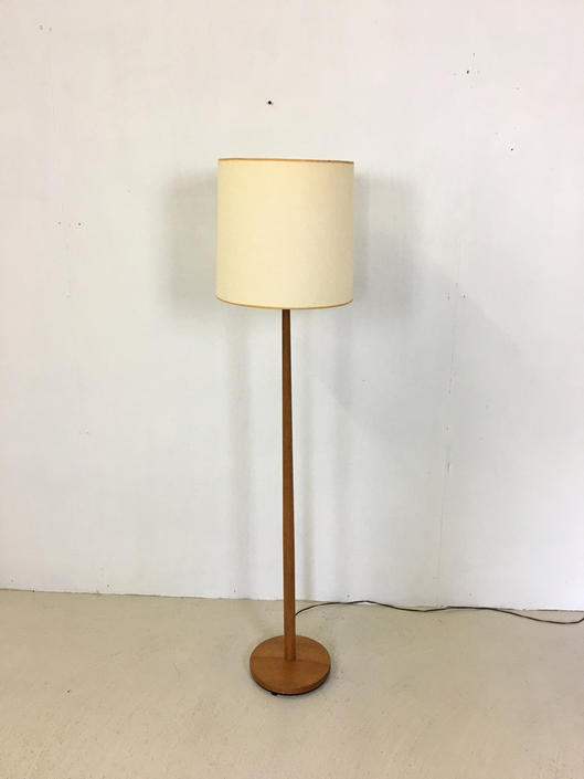 Danish Modern Teak Floor Lamp by retrocraftdesign