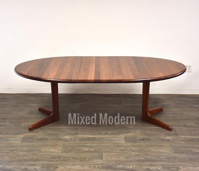 Solid Teak Danish Modern Dining Table by mixedmodern1