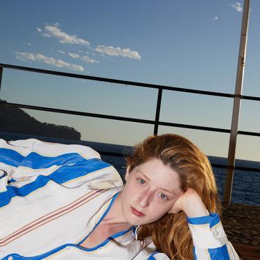 Terra Wide Klein Stripes Pablo Shirt
