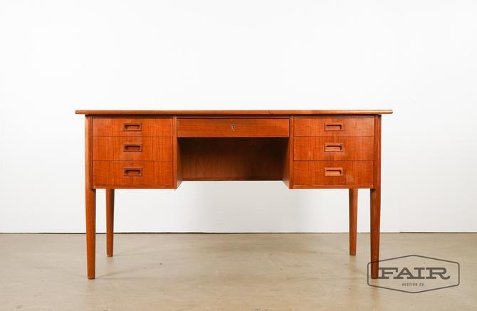 Teak Danish Desk