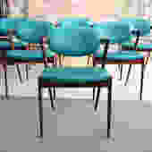 Set of 6 Rosewood Dining Chairs by Kai Kristiansen