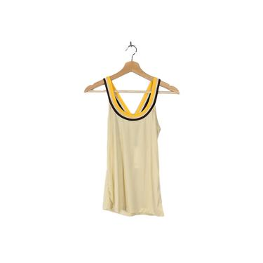 sporti spice   vintage 1960s 1970s tank top   vtg 60s 70s blouse   small/medium   s/m   2/4/6 by danevintage
