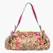Bottega Veneta - Multicolored Speckled Snakeskin Handbag