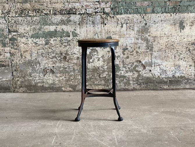 Vintage Toledo Stool Industrial Seating by NorthGroveAntiques