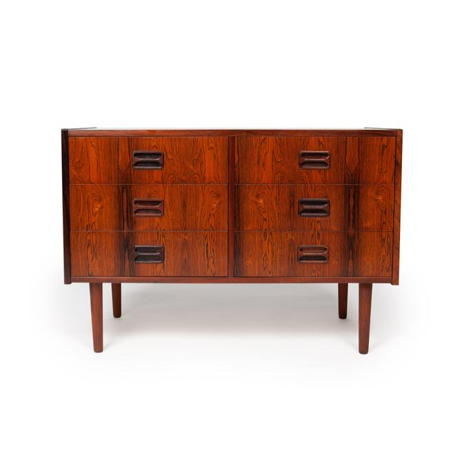 Vintage Danish Mid-Century Six Drawer Chest in Brazilian Rosewood by MCMSanFrancisco