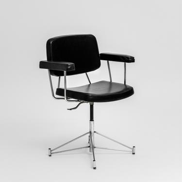 Pierre Paulin Swivel Desk Chair, Model CM197