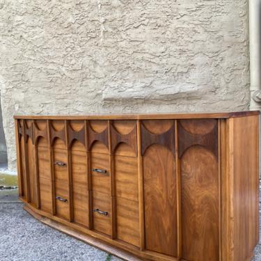 Mid century credenza Kent Coffey perspecta console cabinet mid century modern sideboard by VintaDelphia