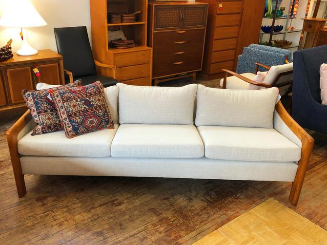 Reupholstered Danish Stouby Sofa
