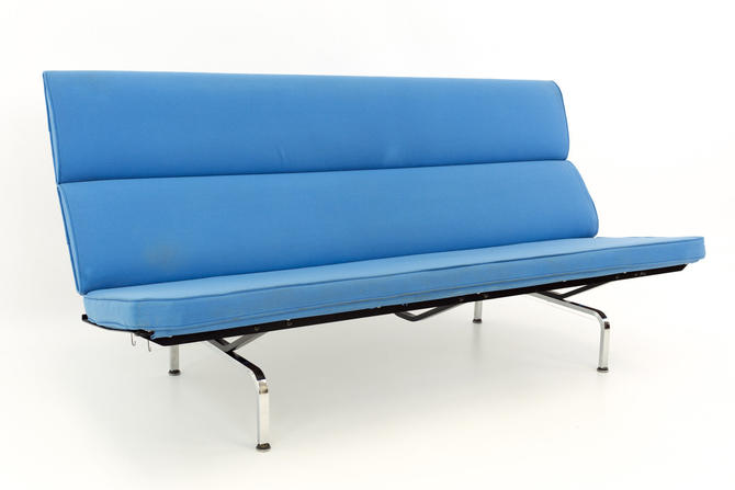 Eames for Herman Miller Mid Century Modern Compact Daybed Sofa - mcm by ModernHill