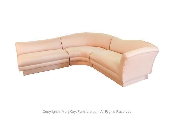 Mid Century Vladimir Kagan Style For Directional Sectional Sofa by Marykaysfurniture