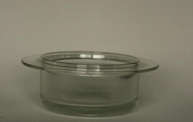 vintage mid century modern Heller glass casserole by suesuegonzalas