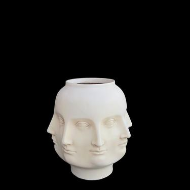 Vintage TMS 2005 Resin Perpetual Head Vase with 8 Faces Dora Maar Style Whimsical Design by SwankyChaperooo