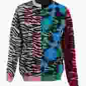 Kenzo & H&M Patchwork Sweater