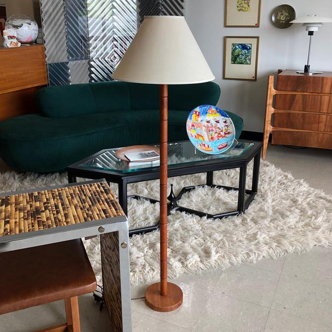 HA-18165 Danish Teak Floor Lamp