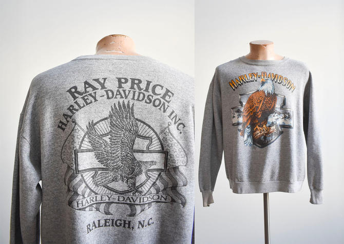 Early 1990s Harley Davidson Crewneck by milkandice