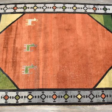 Vintage Moroccan Beni Ourain Rug by mixedmodern1