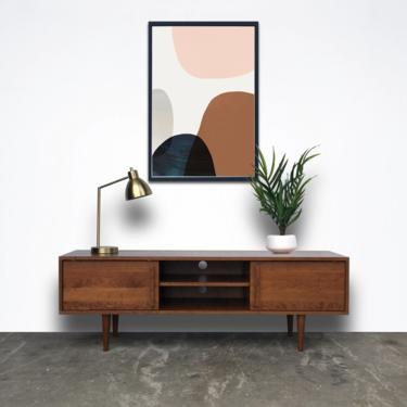 Kasse TV Stand - Solid Cherry -  Teak Finish - Reserved for James by STORnewyork