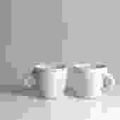 Scraped Porcelain Mug