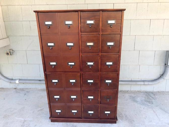 Library/Media Card Catalog Storage Catalogue
