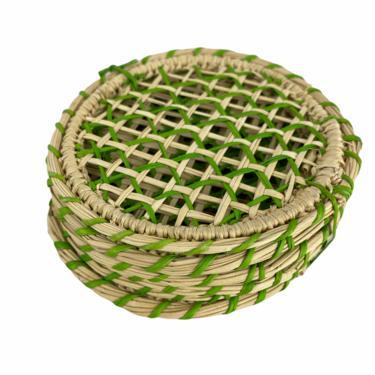 Iraca Green Coaster (set of 6)