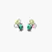 Birthstone Studs: Emerald (May)