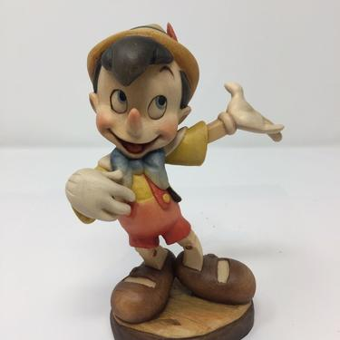 ANRI Italy Hand Carved Walt Disney's Pinocchio Figure 6