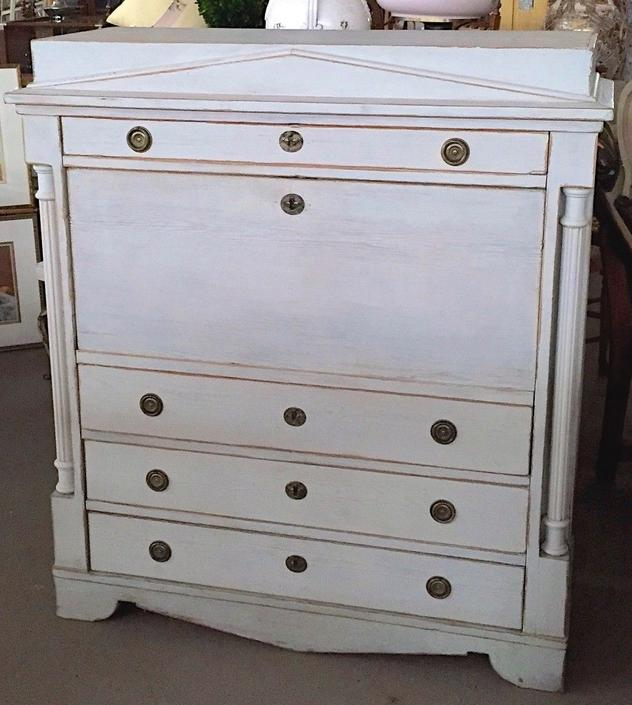 Swedish Gustavian-Style Desk | Secretary