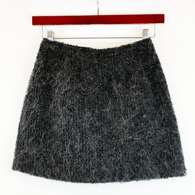 Mohair blend Mini Skirt
