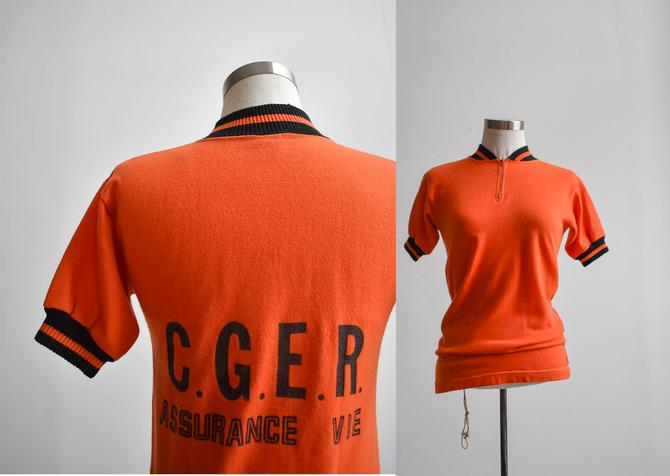 80s French Life Insurance Jumper by milkandice