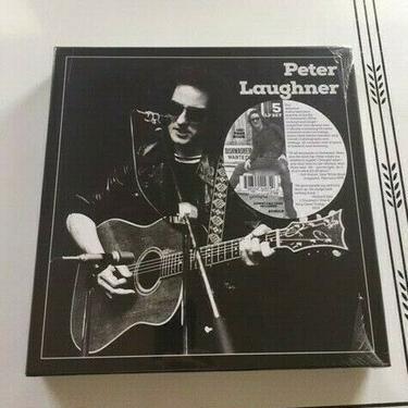 PETER LAUGHNER 5 LP BOX SET plus 100 page BOOK shrinkwrapped record vinyl punk