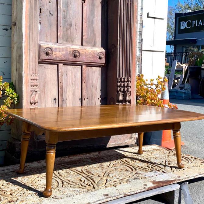 Vintage Ethan Allen Drop Leaf Coffee Table