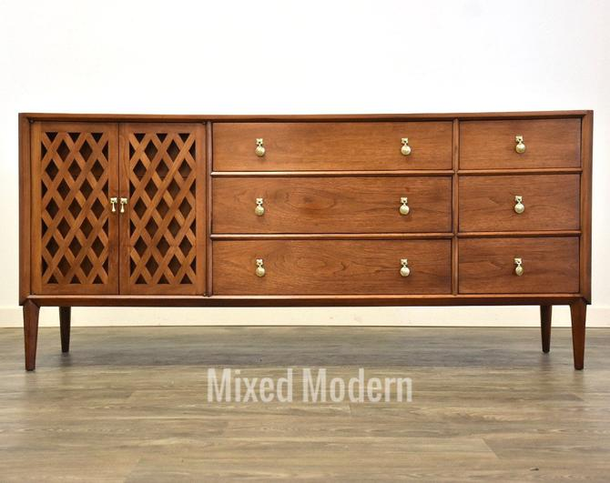 Walnut Dresser by Mount Airy by mixedmodern1