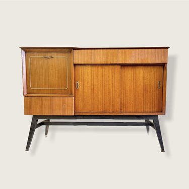 Free Shipping Within US - Vintage Mid Century Design Sideboard or Credenza Designed by Alfred Cox by BigWhaleConsignment
