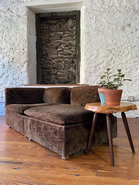 Mid century sofa Danish modern modular sofa mid century sectional sofa by VintaDelphia
