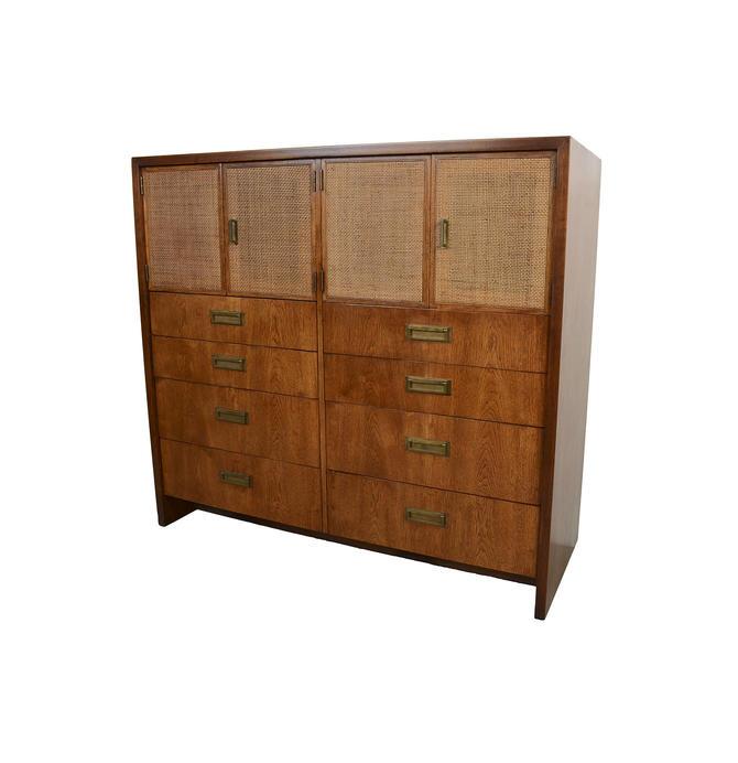 Walnut Dresser Gentlemans Chest Milo Baughman Founders Furniture Mid Century Modern by HearthsideHome