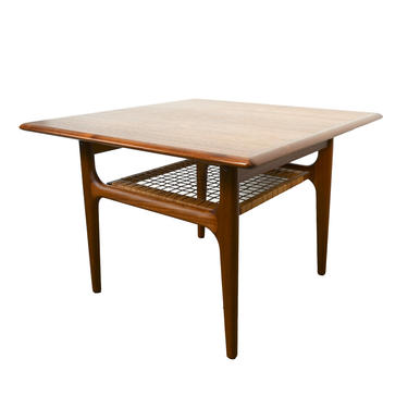 Teak End Table by Trioh Mbler Teak Side Table Corner Table or Coffee Table Danish Modern by HearthsideHome