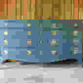 SOLD - Dark Turquoise Vintage Dresser by SophiaRestoration