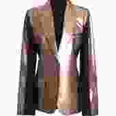 Margiela Metallic Painted Blazer