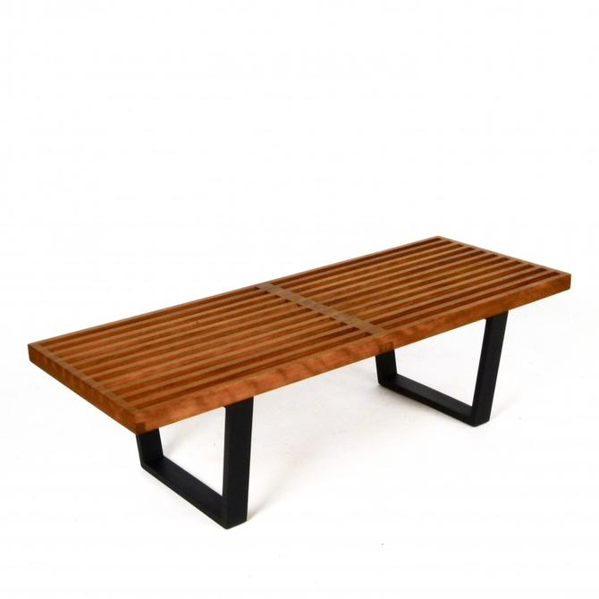 "48"" George Nelson Platform Bench for Herman Miller"