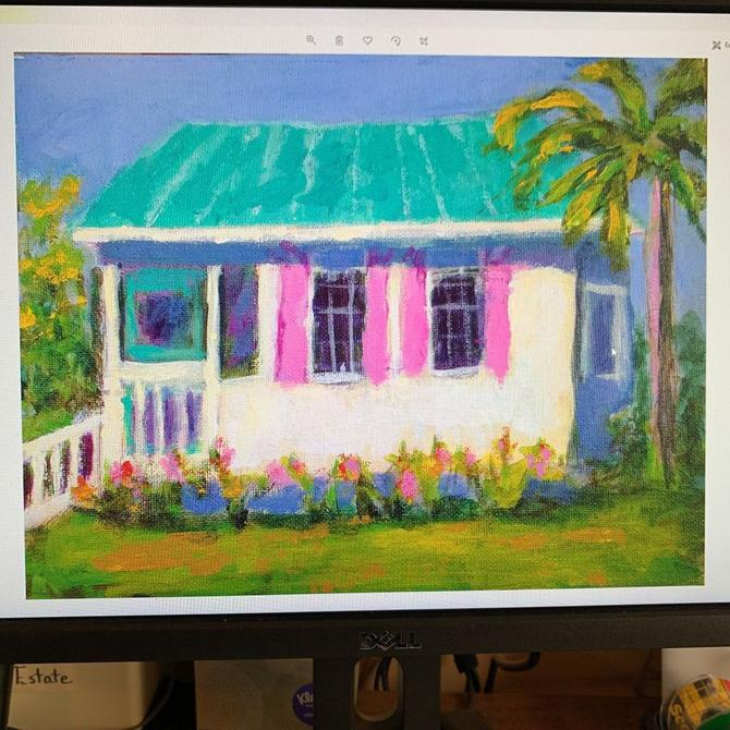 Tybee Pink Cottage