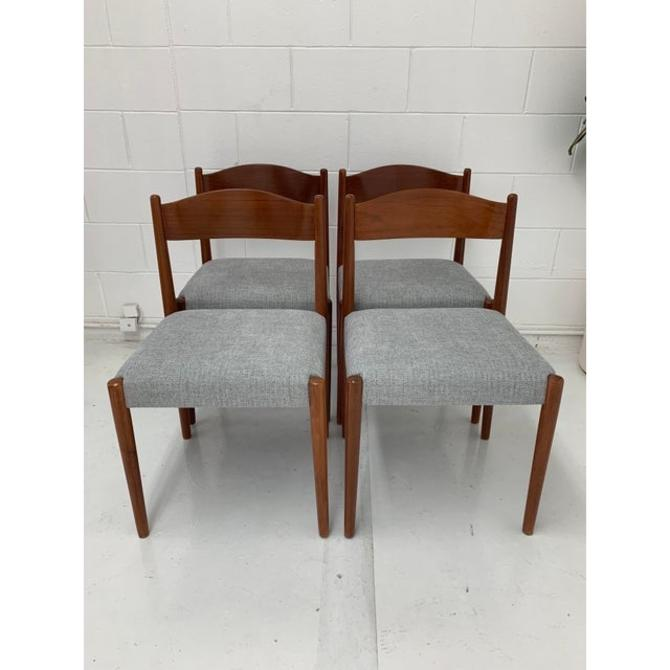 Vintage Danish Dining Chairs- Set of 4 by VintageOnPoint