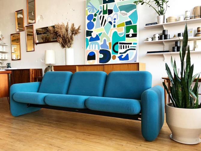 "Ray Wilkes ""Chiclet"" Sofa for Herman Miller"