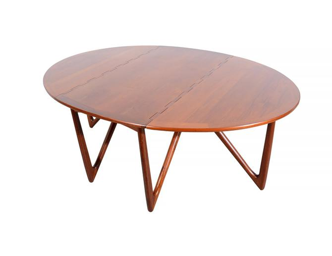Teak Dining Table Ostervig Oval Table Danish Modern Neils Kofoed by HearthsideHome