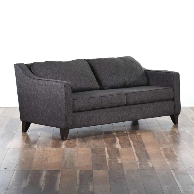 Contemporary Charcoal Grey Sofa