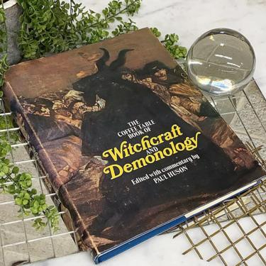 Vintage Witchcraft and Demonology Book Retro 1970s Paul Huson + 102 Illustrations + Witches and Demons + The Cult + Spells and Ruins by RetrospectVintage215