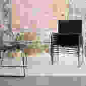 Massimo Vignelli for Knoll 'Handkerchief' Chairs in  black