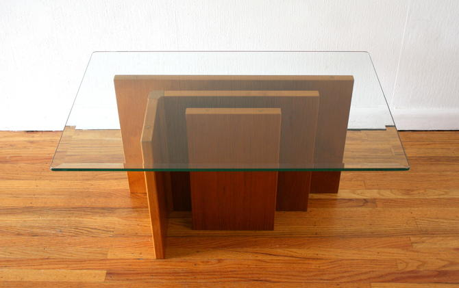 Mid Century Modern Danish Teak Coffee Table by Gustav Gaarde