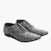 Comme des Garcons Laminated Grid Shoes