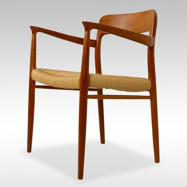 Niels Otto Møller Teak Armchair Model 56, Circa 1960s - *Please ask for a shipping quote before you buy. by CoolCatVintagePA